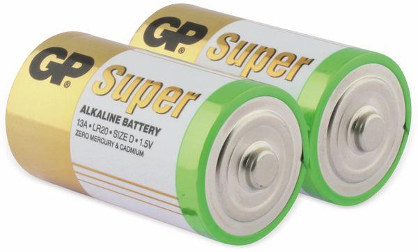 Mono-Batterie-Set GP SUPER Alkaline 2 Stück - Produktbild 2