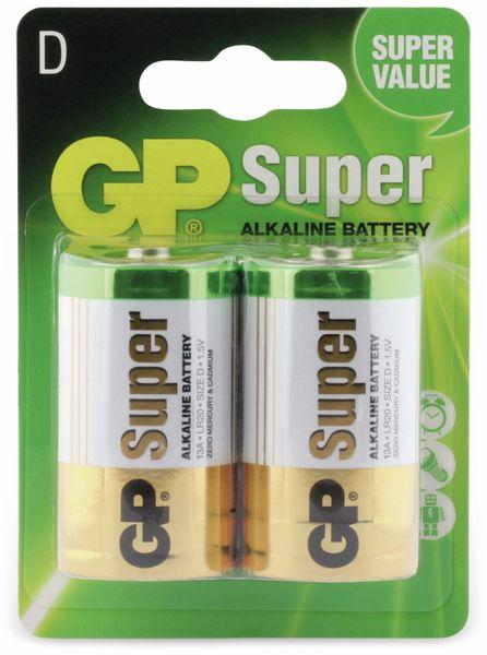 Mono-Batterie-Set GP SUPER Alkaline 2 Stück - Produktbild 5