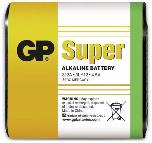 4,5V-Flachbatterie GP SUPER Alkaline 1 Stück - Produktbild 1