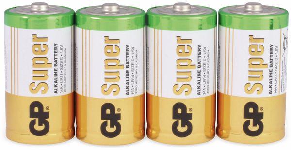Baby-Batterie-Set GP SUPER Alkaline 4 Stück