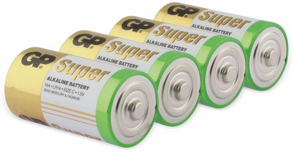 Baby-Batterie-Set GP SUPER Alkaline 4 Stück - Produktbild 2