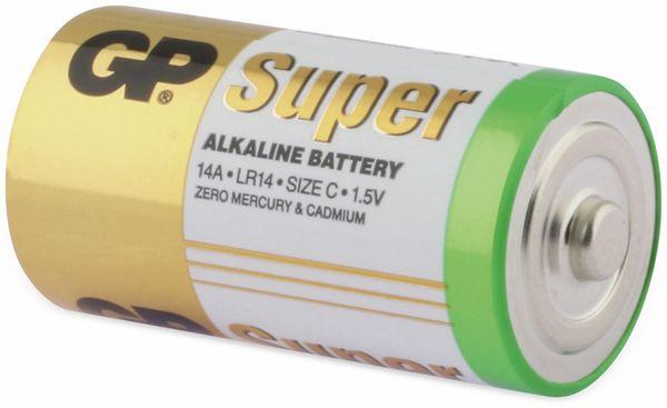 Baby-Batterie-Set GP SUPER Alkaline 4 Stück - Produktbild 3