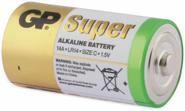 Baby-Batterie-Set GP SUPER Alkaline 4 Stück - Produktbild 4