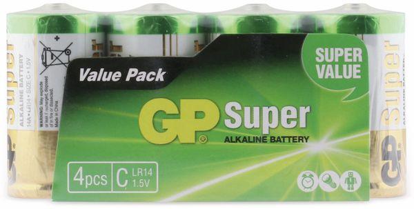Baby-Batterie-Set GP SUPER Alkaline 4 Stück - Produktbild 5
