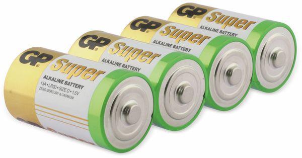 Mono-Batterie-Set GP SUPER Alkaline 4 Stück - Produktbild 2