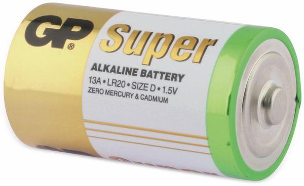 Mono-Batterie-Set GP SUPER Alkaline 4 Stück - Produktbild 3