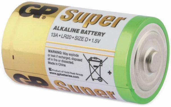 Mono-Batterie-Set GP SUPER Alkaline 4 Stück - Produktbild 4