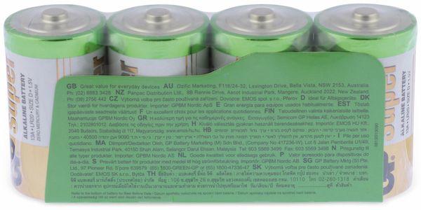 Mono-Batterie-Set GP SUPER Alkaline 4 Stück - Produktbild 6