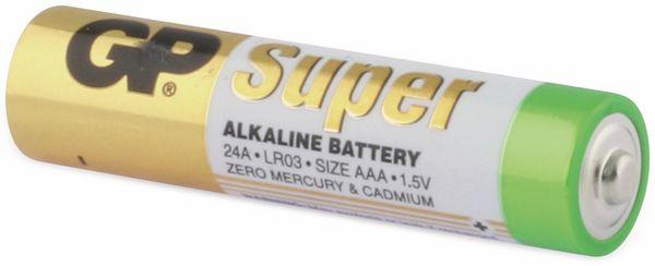 Micro-Batterie-Set GP SUPER Alkaline 8 Stück - Produktbild 3