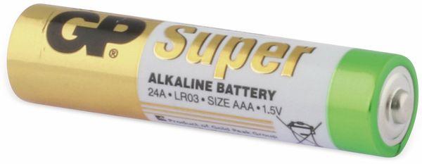 Micro-Batterie-Set GP SUPER Alkaline 8 Stück - Produktbild 4