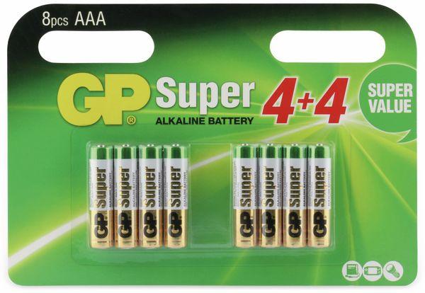 Micro-Batterie-Set GP SUPER Alkaline 8 Stück - Produktbild 5