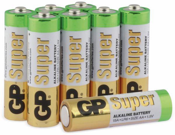 Mignon-Batterie-Set GP SUPER Alkaline, 8 Stück - Produktbild 1