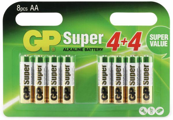 Mignon-Batterie-Set GP SUPER Alkaline, 8 Stück - Produktbild 5