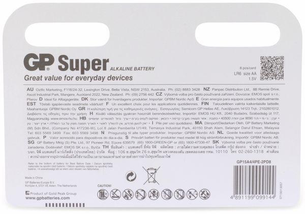 Mignon-Batterie-Set GP SUPER Alkaline, 8 Stück - Produktbild 6