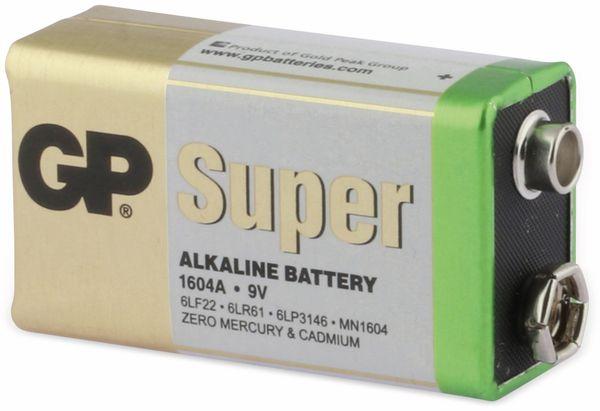 9V-Block-Batterie-Set GP SUPER Alkaline 10 Stück - Produktbild 2