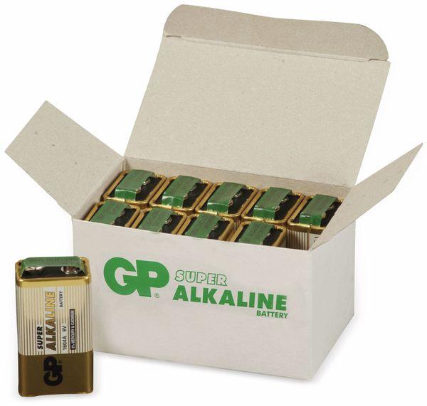 9V-Block-Batterie-Set GP SUPER Alkaline 10 Stück - Produktbild 4