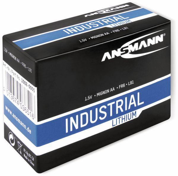 Lithium-Batterie, ANSMANN, INDUSTRIAL, Mignon, 10 Stück - Produktbild 2
