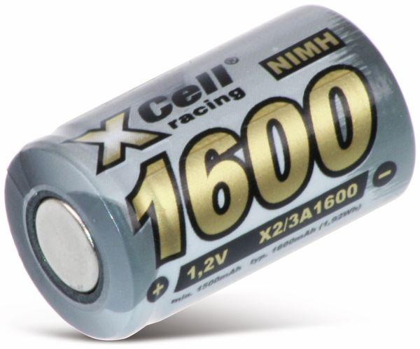 NiMH-Akku, XCELL, Industriezelle, 2/3 A, Flat-Top, 28,5x17mm, 1,2V/1600mAh