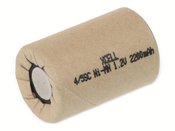Sub-C-Zelle, XCELL, NiMH, Pappmantel, 1,2V/2200mAh, 34x22,5mm