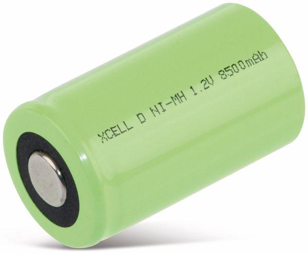 NiMH-Akku, XCELL, Industriezelle, Mono, Flat-Top, 57x33mm, 1,2V/8500mAh