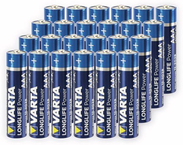 Micro-Batterie,VARTA, LONGLIFE, Power, 24St.