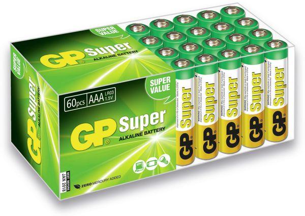Micro-Batterie-Set GP SUPER Alkaline, 60 Stück