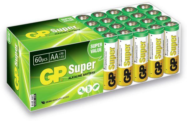 Mignon-Batterie-Set GP SUPER Alkaline, 60 Stück