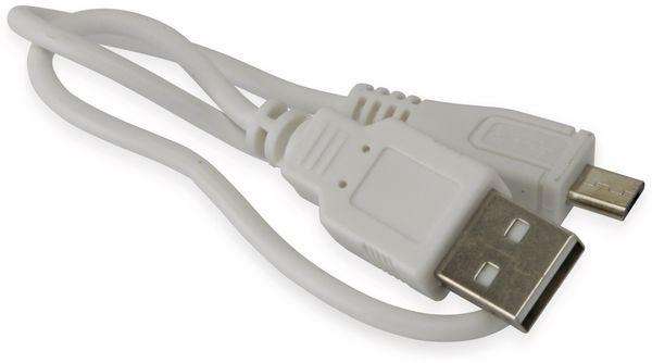 USB Powerbank, sweex, PB8000WH, 8000mAh, 1x USB-Port - Produktbild 4