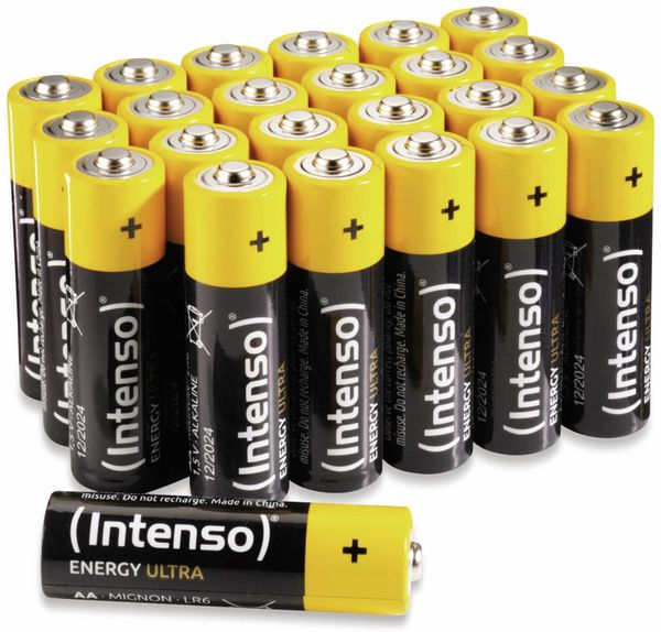 Batterie-Set INTENSO Energy Ultra, AA LR06, 24 Stück