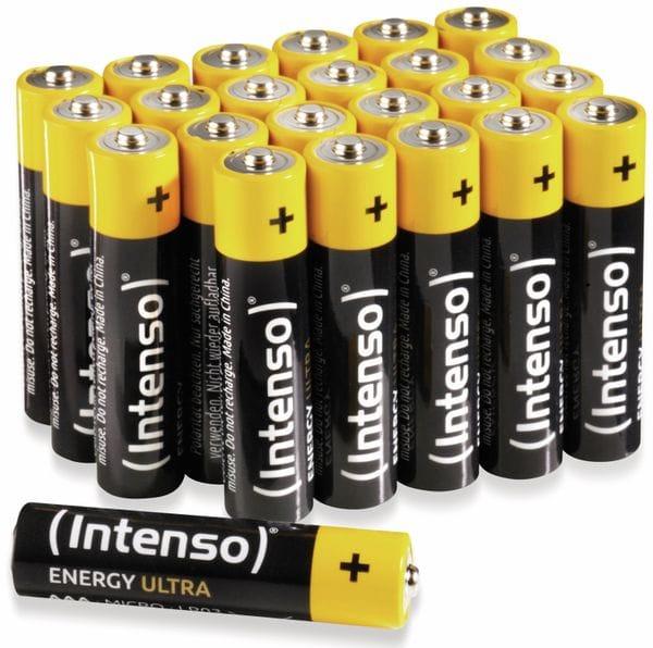 Batterie-Set INTENSO Energy Ultra, AAA LR03, 24 Stück - Produktbild 1