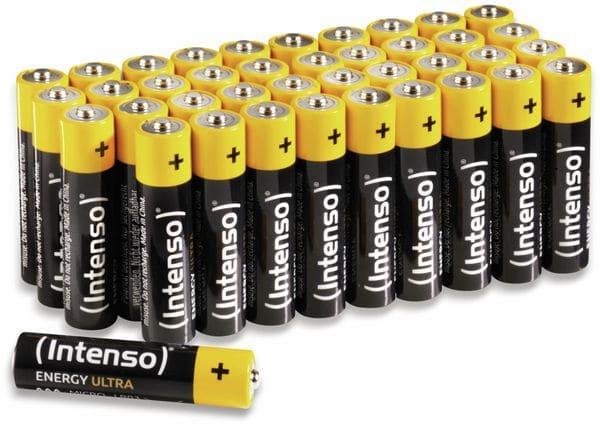Micro-Batterie INTENSO Energy Ultra, AAA LR03, 40 Stück
