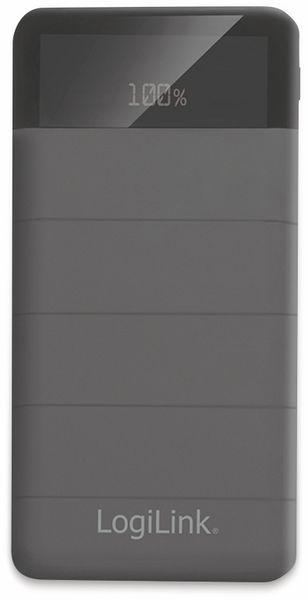 USB-Powerbank LogiLink PA0193, 10000 mAh, 3x USB Ausgang, schwarz - Produktbild 3