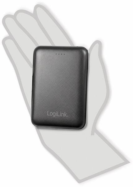 USB Powerbank LogiLink PA0191, 10000 mAh, schwarz, 2x USB Ausgang - Produktbild 3