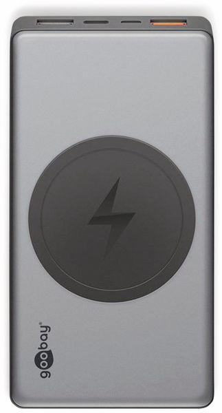 USB Powerbank GOOBAY 55152, QC3.0, 10000 mAh, Aluminium - Produktbild 2