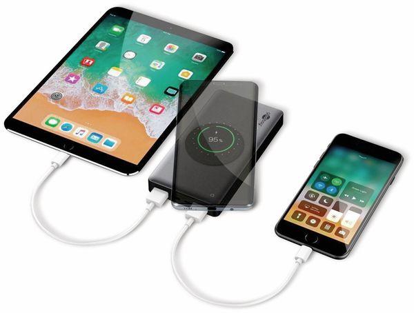 USB Powerbank GOOBAY 55152, QC3.0, 10000 mAh, Aluminium - Produktbild 5