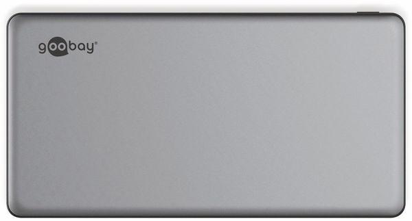 USB Powerbank GOOBAY 59819, QC3.0, 15000 mAh, Aluminium - Produktbild 4