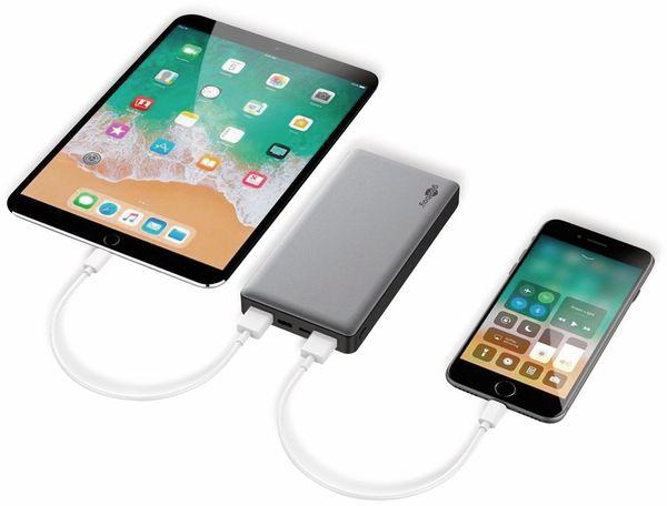 USB Powerbank GOOBAY 59819, QC3.0, 15000 mAh, Aluminium - Produktbild 7