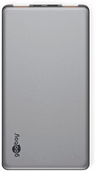 USB Powerbank GOOBAY 59820, QC3.0, 5000 mAh, Aluminium - Produktbild 3