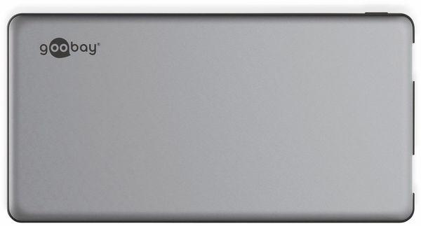 USB Powerbank GOOBAY 59820, QC3.0, 5000 mAh, Aluminium - Produktbild 4
