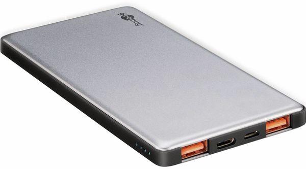 USB Powerbank GOOBAY 59820, QC3.0, 5000 mAh, Aluminium - Produktbild 6