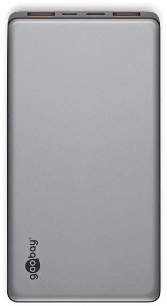 USB Powerbank GOOBAY 59821, QC3.0, 10000 mAh, Aluminium - Produktbild 3