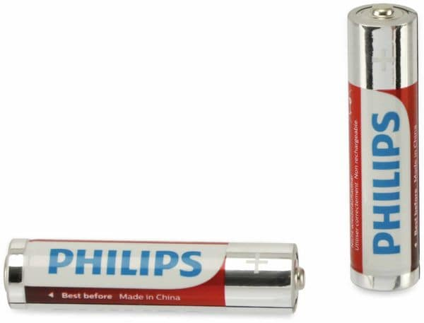 Micro-Batterien PHILIPS, Power Alkaline, 2 Stück