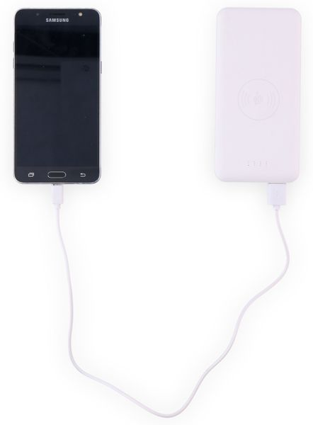 USB-Powerbank GRUNDIG, 8000 mAh, 2x USB, Induktion - Produktbild 2