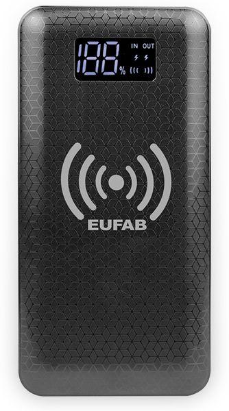 USB Powerbank EUFAB 16466, 10.000 mAh, Induktionslader - Produktbild 2