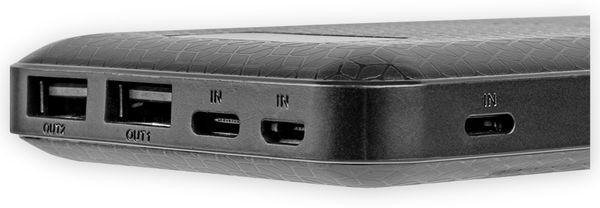 USB Powerbank EUFAB 16466, 10.000 mAh, Induktionslader - Produktbild 3