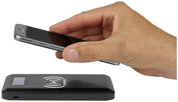 USB Powerbank EUFAB 16466, 10.000 mAh, Induktionslader - Produktbild 4