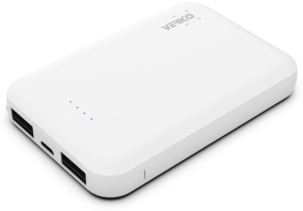 USB Powerbank VERICO Power Guard 5.000 mAh, weiß