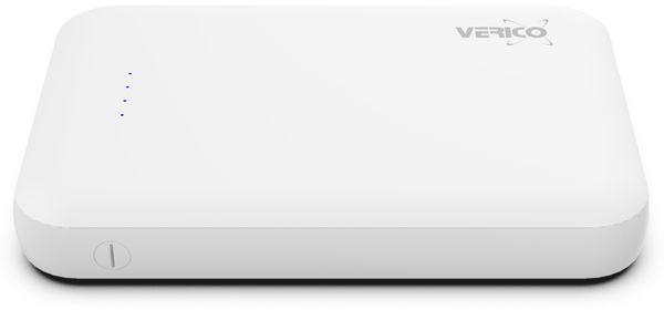 USB Powerbank VERICO Power Guard 5.000 mAh, weiß - Produktbild 3