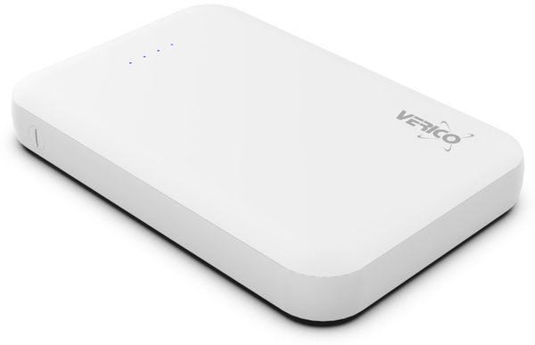 USB Powerbank VERICO Power Guard 5.000 mAh, weiß - Produktbild 4