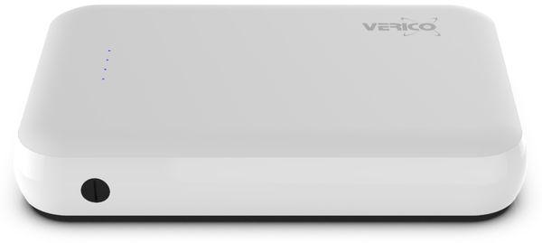 USB Powerbank VERICO Power Guard 10.000 mAh, weiß - Produktbild 3